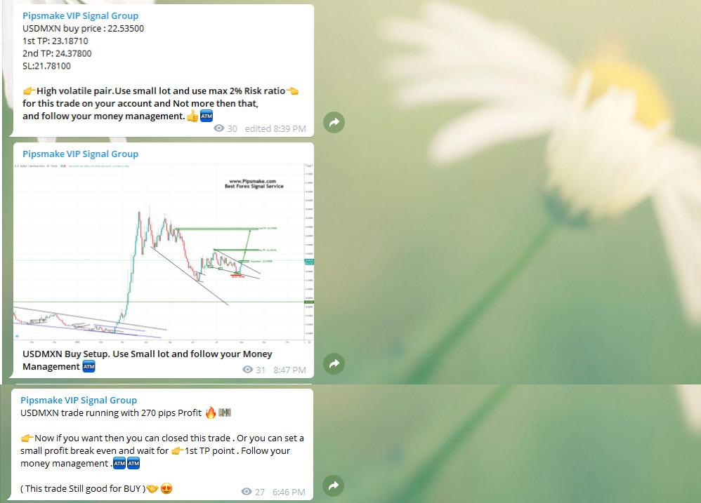 USDMXN Trade Signal